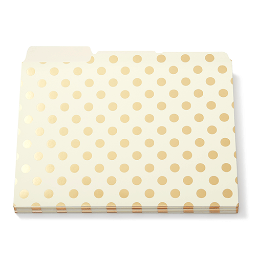 kate-spade-new-york-file-folders-gold-dots