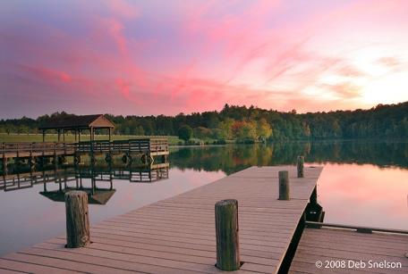 Chris Greene Lake Park Albemarle County Virginia Sunset